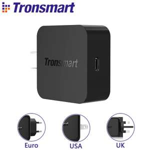 Tronsmart WCP01 Charger with Quick Charge 3.0 for £6.02 delivered (using code) @ AliExpress Deals / Tronsmart Official Store