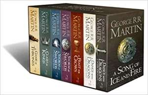 A Song of Ice and Fire, complete books set (7 volumes) - £21.99 @ Amazon