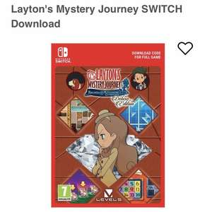Layton's Mystery Journey Digital Download - £27.85 @ ShopTo