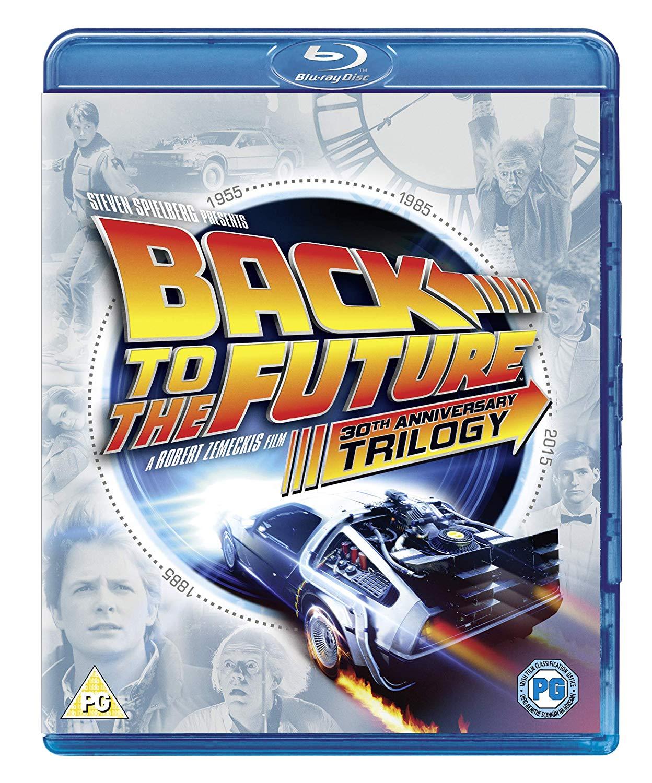 Back to The Future Trilogy [1985] [Region Free] 0th Anniversary Edition Box Set - £8 (Prime) £10.99 (Non Prime) @ Amazon