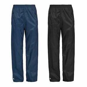 Trespass Packup Womens Mens Waterproof Trousers Navy Black Packaway Pants £7.49 Delivered @ Trespass Ebay Store