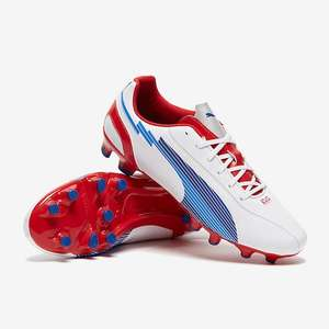 Puma Evospeed 5 FG - White/Limoges Blue/Red - Great Cyber Monday Deal! £15 + £3.99 Delivery @ Pro-Direct Soccer
