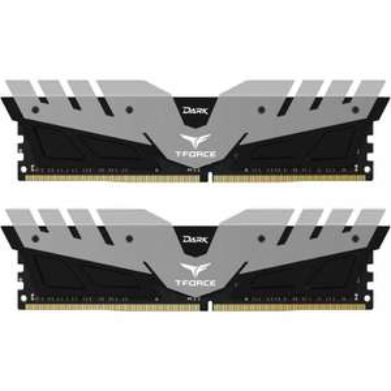 TEAM GROUP DARK T-FORCE 16GB (2X8GB) DDR4 3200MHZ DUAL CHANNEL KIT - BLACK/GREY (TDGED4 - £68.69 @ OCUK