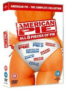 American Pie: All 8 Pieces of Pie (Box Set) [DVD] - £7.80 @ zoomonline eBay