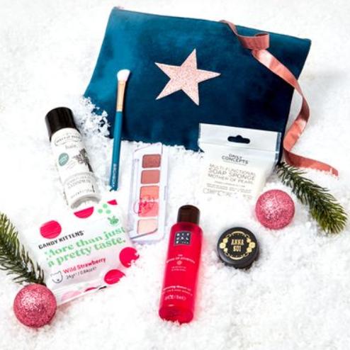 December Birchbox in Velvet Pouch now £7.95 delivered using code @ Birchbox