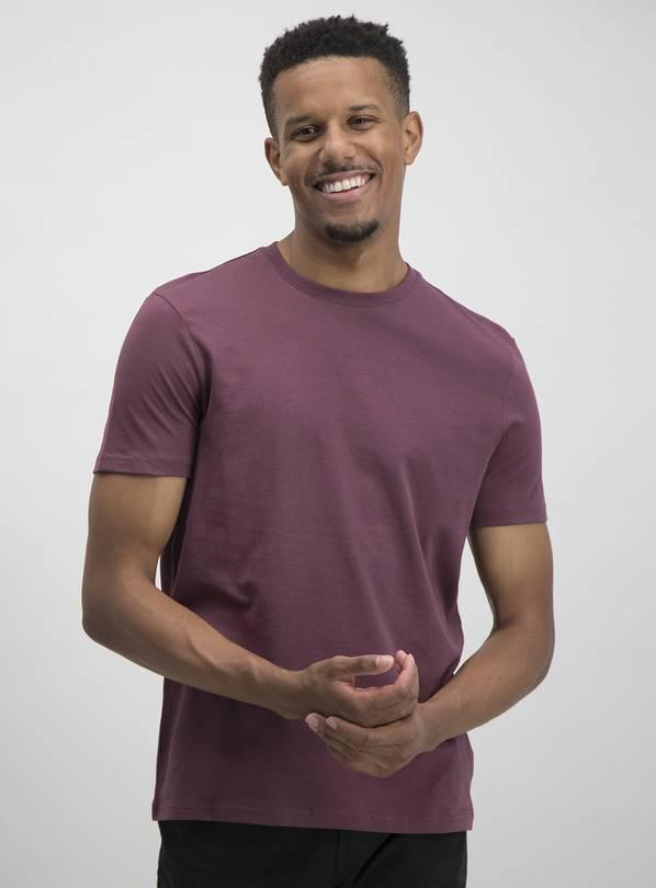 Online Exclusive Purple Regular Fit Short Sleeve T-Shirt £3 at Argos