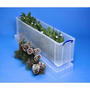 77L Really Useful Christmas Tree Box - Free delivery today £19 at Homebase