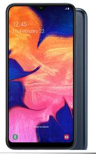 Samsung Galaxy A10 & Nintendo Switch Console Neon 45gb O2 data unlimited mins/text £35.00 per month (£396 cashback) at Mobile Phones Direct