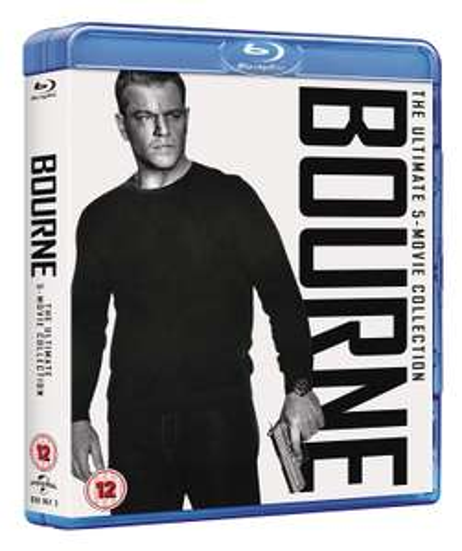 The Bourne Collection [2016] Box Set 5-movie collection on blu-ray £11.89 (Prime) £14.88 (Non Prime) @ Amazon