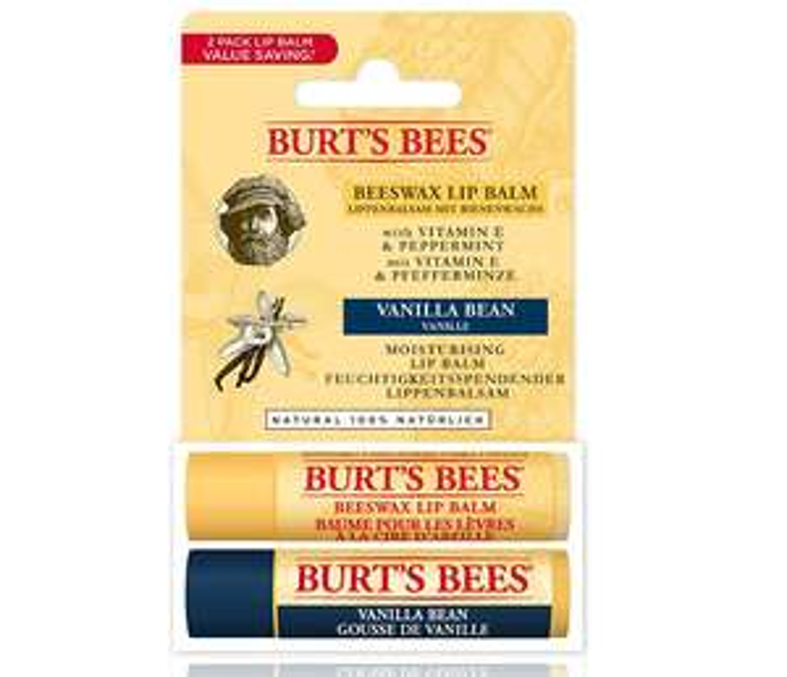 Burt's Bees® 100% Natural Moisturising Lip Balm, 2x Tube x 4.25grams £3.59 Prime / £8.08 Non Prime at Amazon