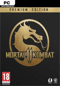 PC - Mortal Kombat 11 Premium Edition £24.99 steam key, standard version £16.99 @ CDKeys