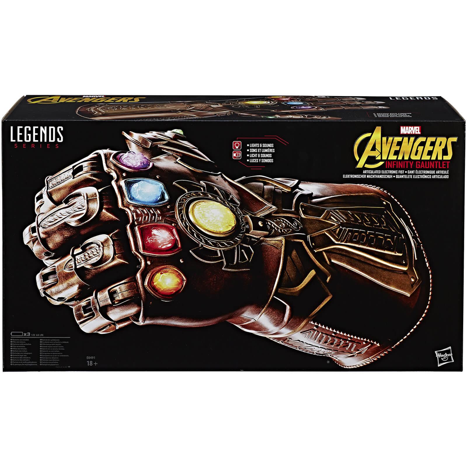 Hasbro Avengers Infinity War Marvel Legends Replica Thanos Infinity Gauntlet £72 at Zavvi