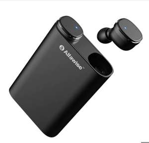 Alfawise mini True Wireless Bluetooth earphones with emergency phone charger for £18.84 delivered @ Gearbest