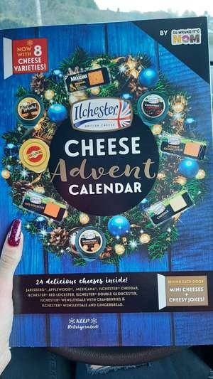 Ilchester Cheese Advent Calendar down to £4 in Asda
