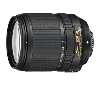 Nikon lens - AF-S DX NIKKOR 18-140mm f/3.5-5.6G ED VR - £289 @ Nikon