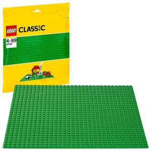 LEGO 10700 Classic Base Extra Large Building Plate 10 x 10 Inch Platform, Green £4.50 (Prime) / £8.98 (Non Prime) delivered @ Amazon