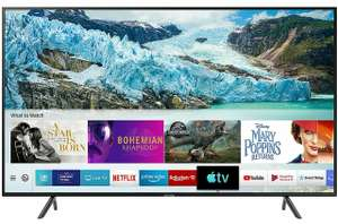 "Samsung UE55RU7100 RU7100 55"" Inch HDR10+ TV Smart 4K Ultra HD LED Freeview HD 3 HDMI for £379.05 delivered @ AO eBay"