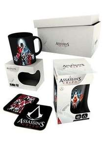 Assasin's Creed Odyssey Gift Box 1 Mug 1 Large Glass 2 Coasters for £9.85 Delivered @ Base