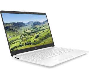 """HP 15s 15.6"""" Laptop - Intel Core i5-1035G1, 256 GB SSD, White or Silver - £379.05 delivered @ Currys eBay"""