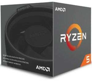 AMD Ryzen 5 2600 Processor with Wraith Stealth Cooler £108.30 at Currys/ebay with code