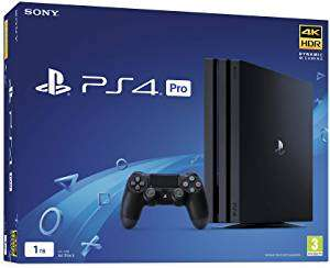 Sony PlayStation 4 Pro 1TB £213.90 Very Good Condition from Amazon Warehouse UK