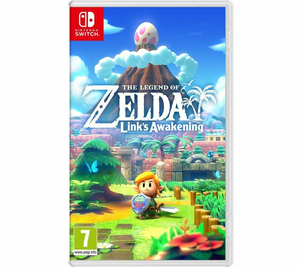Get 2 Nintendo Switch Games for £70.28 delivered (e.g The Legend of Zelda: Links Awakening,Super Mario Maker 2, Mario Odyssey) @ Currys/eBay