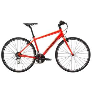 Cannondale Quick 7 2019 Aluminium Hybrid Bike In Acid Red £263.99 Using Code + DX 24 Hour Delivery @ Rutland Cycling