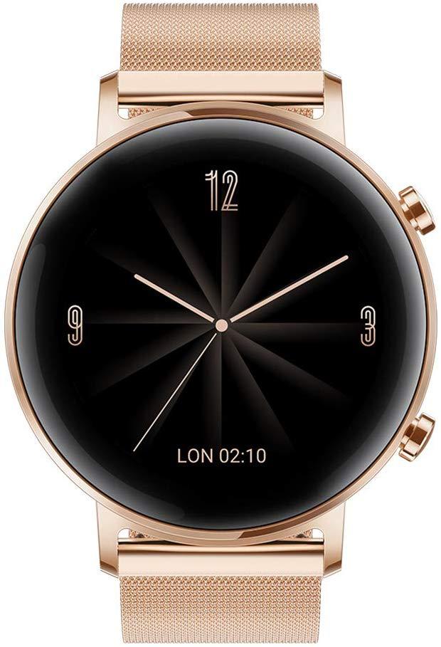 Huawei Watch GT2 - Elegant 42mm (Diana B19b) Refined Gold Smart watch £174.90 at Amazon