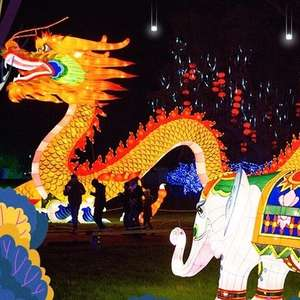 Tickets to Lightopia Festival Manchester £8 with code (children under 2 go free) @ Groupon