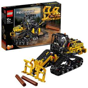 LEGO 42094 Technic Tracked Loader 2 in 1 Dumper Model, Forest Bulldozer, Construction Vehicles Collection £32.99 at Amazon