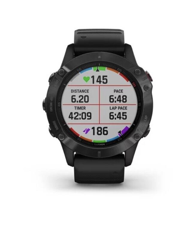 Garmin Fenix 6 Pro Music WiFi GPS Tough Gorilla Glass 47MM Black Watch £509.15 at watcho.co.uk