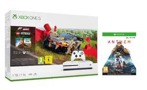 Xbox One S 1TB Console - Forza Horizon 4 Lego + Anthem £159.99 at Amazon