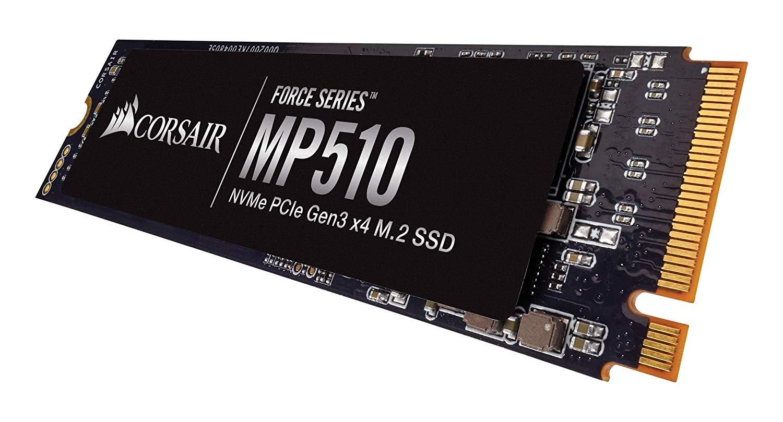 Corsair MP510 240GB NVMe PCIe 3 x 4 M.2 SSD £40.98 at Amazon