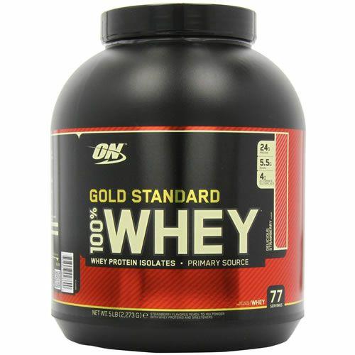 Optimum Nutrition Gold Standard Whey 2.27 kg, £31.99 at Amazon