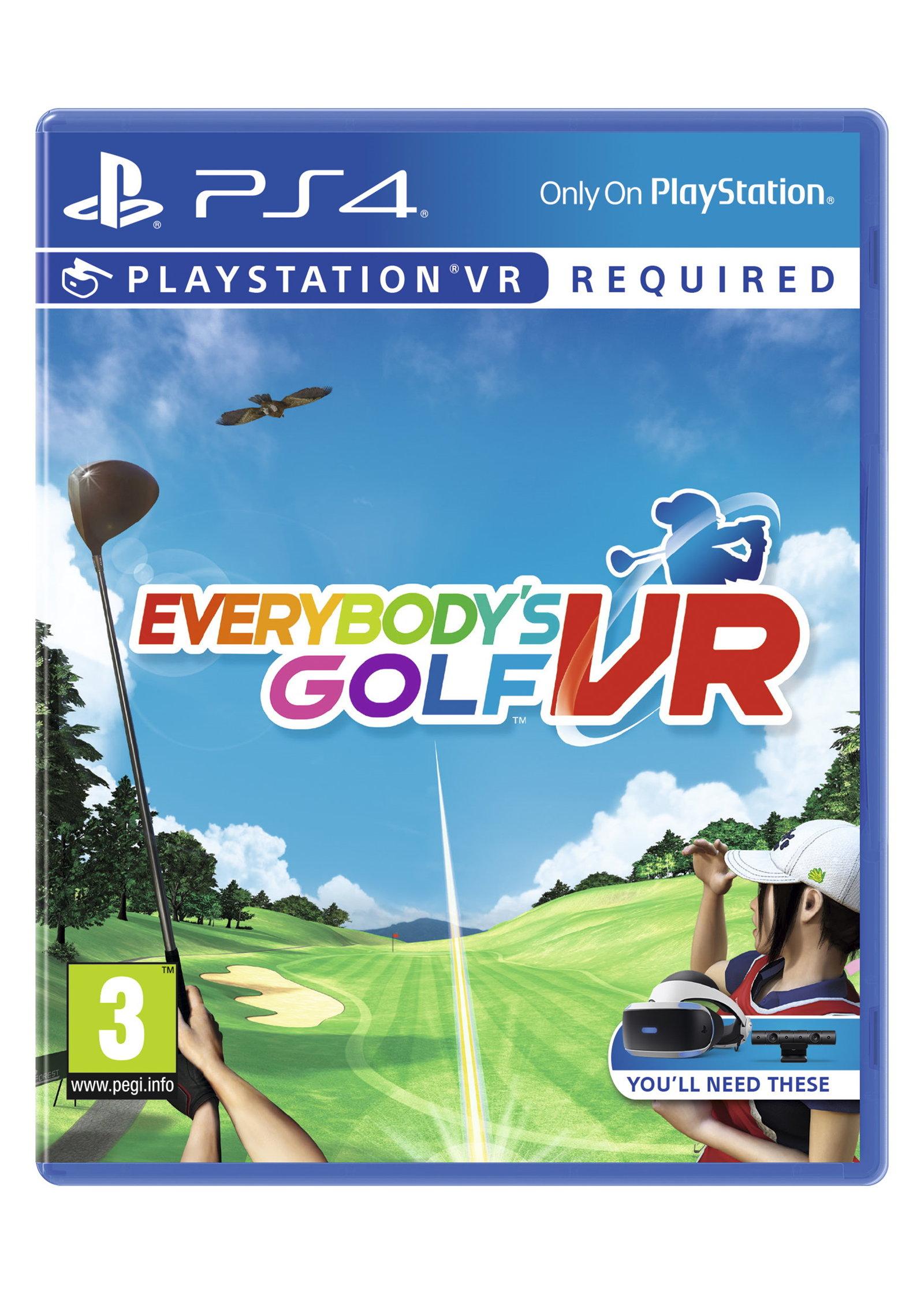 Everybody's Golf VR (PS4/PSVR) £9.99 Delivered @ Monster-Shop