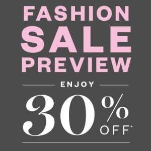 30% OFF Fashion @ Harrods