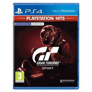 [PS4] Gran Turismo Sport (PlayStation Hits) - £9.99 delivered @ Monster Shop