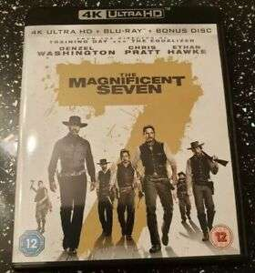 The Magnificent Seven (4K Ultra HD + Blu-ray + Bonus Disc) [New & Sealed] - £8 Delivered @ youberdeals91/eBay