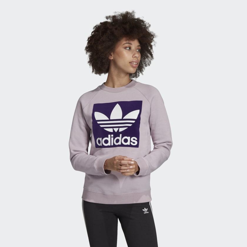 Women adidas Originals Trefoil Sweatshirt £18.04 / £20.03 delivered with code @ adidas