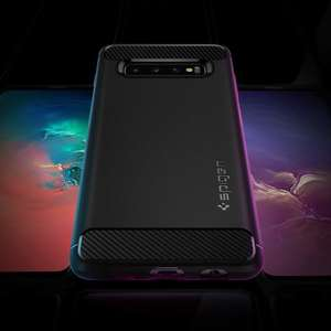 Spigen Rugged Armour Samsung Galaxy S10 Case. £4.79 Prime / +£4.49 Non-prime - Sold by Spigen and Fulfilled by Amazon.