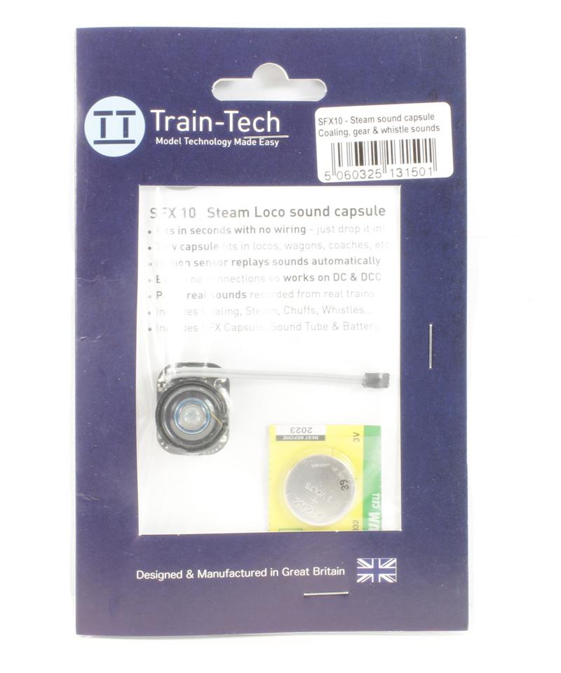 Train Tech SFX10 Steam locomotive sound capsule £41.75 @ hattons