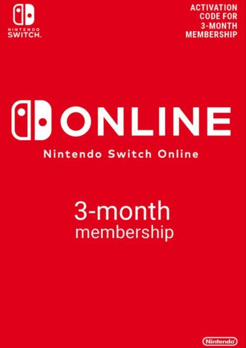 Nintendo Switch Online 3 month membership £3.49 @ CDKeys
