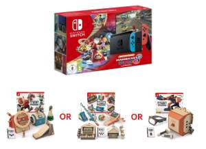 Nintendo Switch (Improved Battery) + Mario Kart 8 Deluxe Console Bundle + Choice of Nintendo LABO Kit - £279.85 Delivered @ Shopto
