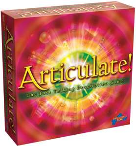 Articulate board game. £14.99 + £4.49 NP @ Amazon