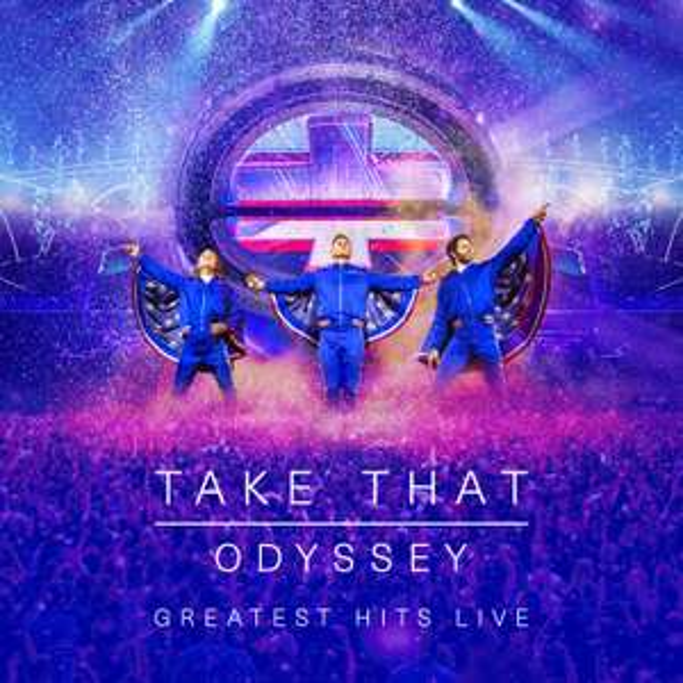"Take That: ""Odyssey - Greatest Hits Live"" [2 x CD, 1 x Blu-ray Disc, & 1 x DVD] £20.00 at Amazon (UK)"