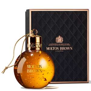 Molton Brown Mesmerising Oudh Accord and Gold Festive Bauble 75ml £6.30 using code @ Look Fantastic delivered
