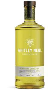 Whitley Neill Lemongrass & Ginger Gin, 70 cl £19.99 (Prime) / £24.48 (non Prime) at Amazon