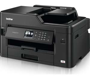Brother MFCJ5335DW A3 All-In-One Inkjet Colour Printer £113.05 delivered with code (£63.05 after cashback) @ AO eBay