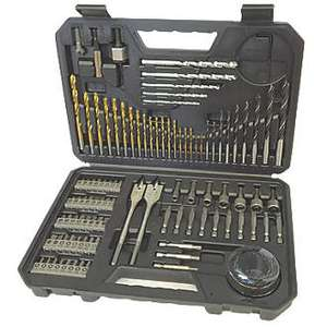 Bosch Straight Shank Drilling & Screwdriving Set 103 Pieces £17.49 @ Screwfix (free click and collect)