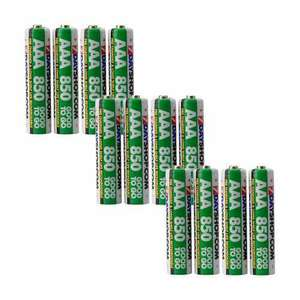 """7dayshop """"GOOD TO GO"""" AAA Rechargeable Batteries NiMH Pre-Charged 850mAh - 12 Pack £7.49 @ 7dayshop ."""